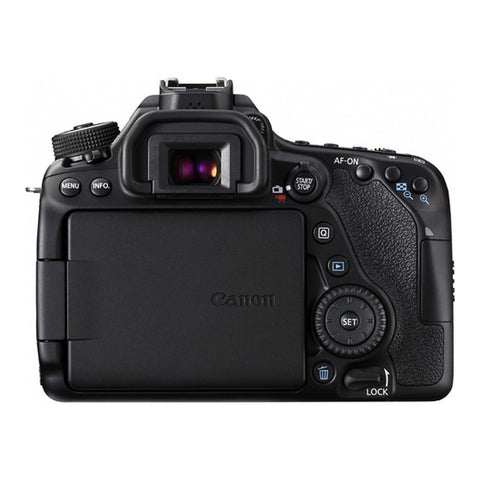 Canon EOS 80D with EF-S 18-55mm f/3.5-5.6 IS STM Lens Black Digital SLR Camera