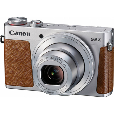 Canon PowerShot G9 X Silver Digital Camera