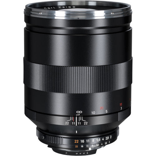 Carl Zeiss Apo-Sonnar T* ZF2 135mm f/2 for Nikon Black Lens