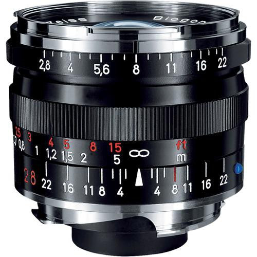 Carl Zeiss Biogon T* ZM 28mm f/2.8 for Leica M Black Lens