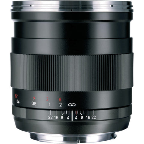 Carl Zeiss Distagon T* ZE 25mm f/2 for Canon Black Lens