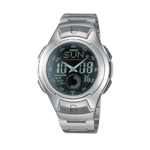 Casio Classic Analog-Digital AQ-160WD-1BV Watch (New with Tags)