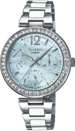 Casio Sheen SHE-3042D-2A Watch (New with Tags)