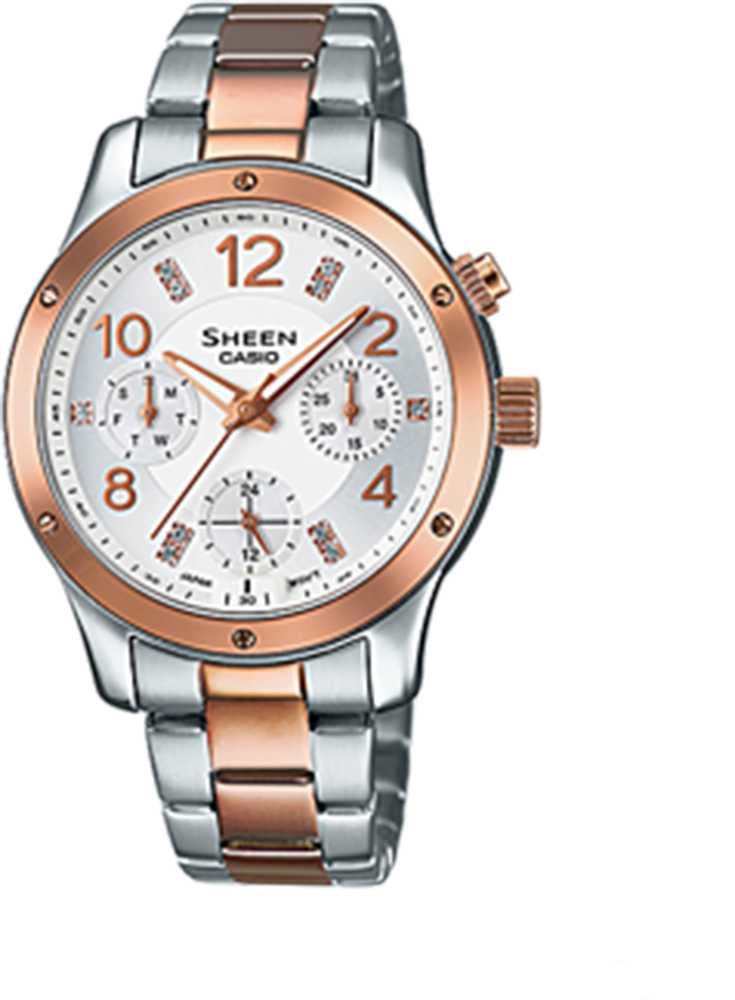 Casio Sheen She-3807spg-7a Watch (New with Tags)
