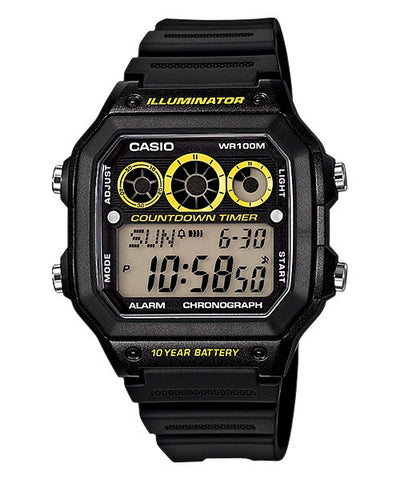 Casio Sports Digital AE1300WH-1A Watch (New with Tags)