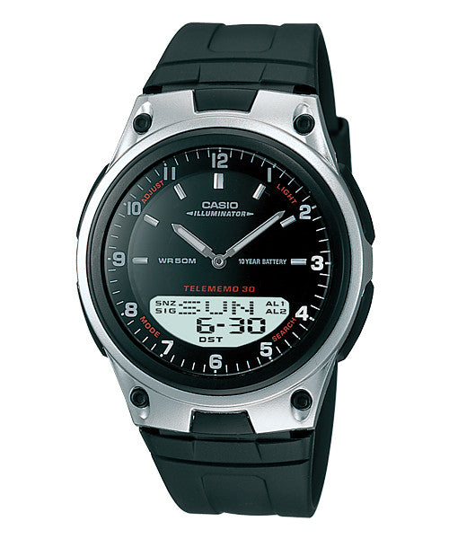 Casio Standard 10-Year Battery AW-80-1AV Watch (New with Tags)