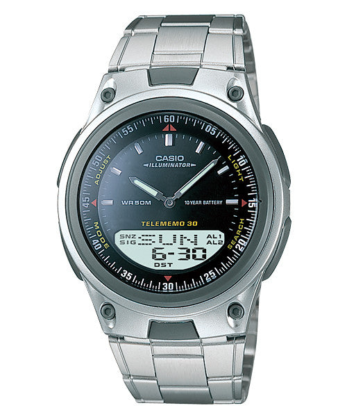 Casio Standard 10-Year Battery AW-80D-1AV Watch (New with Tags)