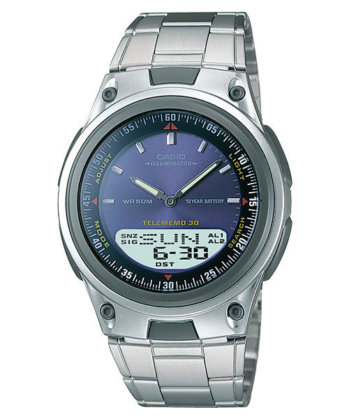 Casio Standard 10-Year Battery AW-80D-2AV Watch (New with Tags)