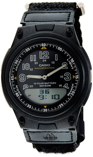 Casio Sports Analog-Digital AW-80V-1BV Watch (New with Tags)