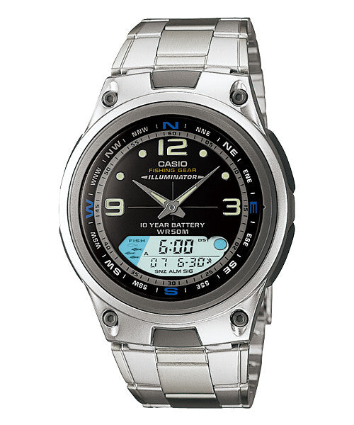 Casio Outgear Analog-Digital AW-82D-1AV Watch (New with Tags)