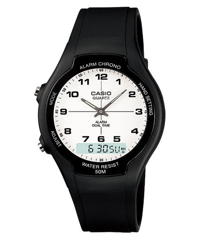Casio Standard Analog-Digital AW-90H-7B Watch (New with Tags)