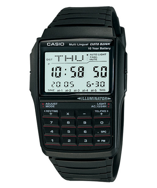 Casio DataBank Digital DBC-32-1A Watch (New with Tags)