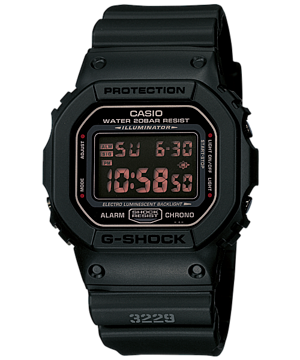 Casio G-Shock Standard Digital DW-5600MS-1 Watch (New with Tags)