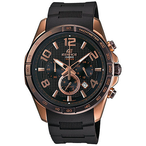 Casio Edifice Black Label EFR516PG-5A Watch (New with Tags)