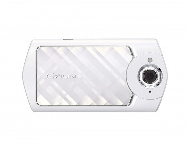Casio EXILIM EX-TR50 White Digital Cameras