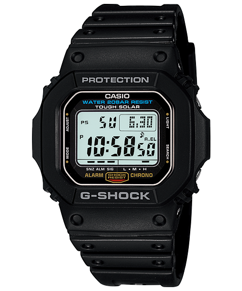 Casio G-Shock Standard Digital G-5600E-1 Watch (New with Tags)