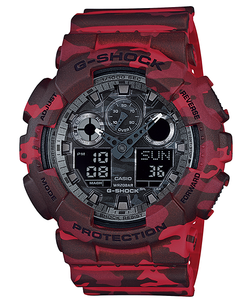 Casio G-Shock GA-100CM-4A Watch (New with Tags)
