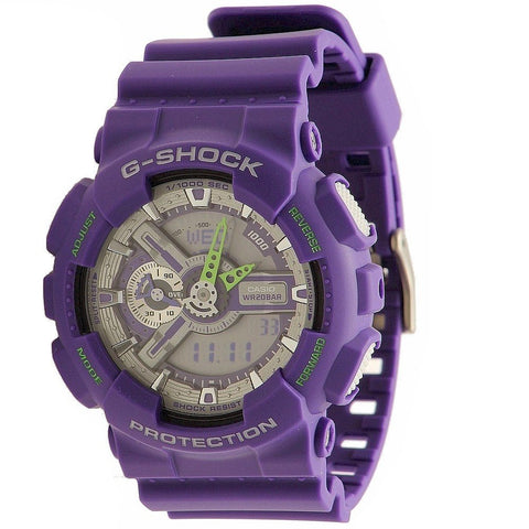 Casio Dusty Neon GA-110DN-6A Watch (New with Tags)