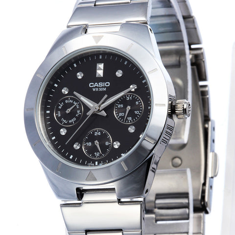 Casio Enticer LTP-2083D-1A Watch (New with Tags)