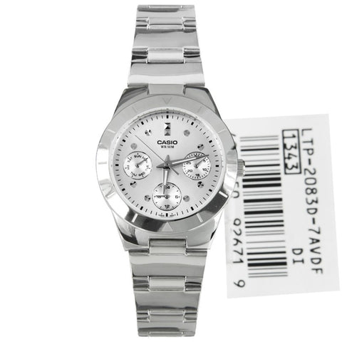 Casio Enticer LTP-2083D-1B Watch (New with Tags)