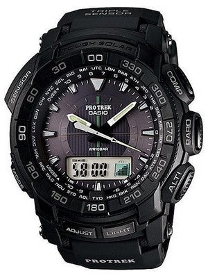 Casio Pro Trek Triple Sensor PRG-550-1A1 Watch (New with Tags)