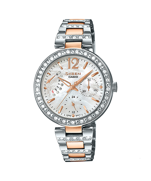 Casio Sheen SHE-3043SG-7A Watch (New with Tags)