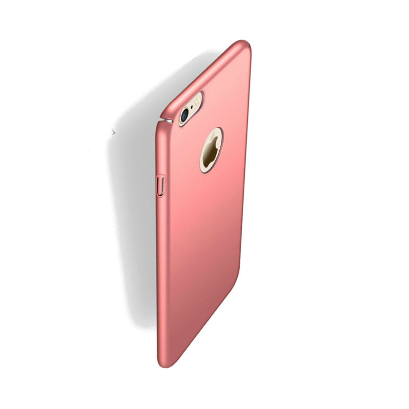 Hard Shell Drop Resistance Case for iPhone 6 (Rose Gold)
