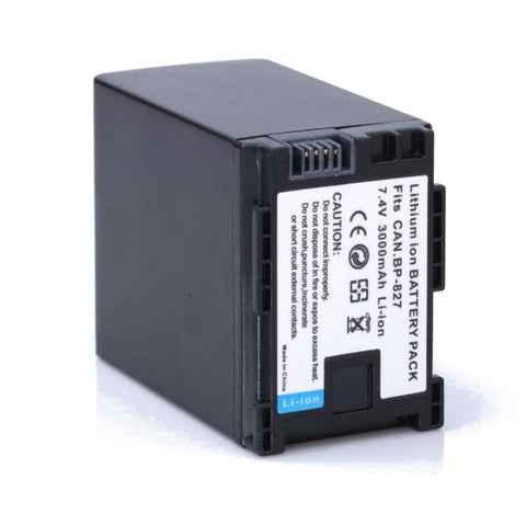 Generic BP-827 Battery for Canon