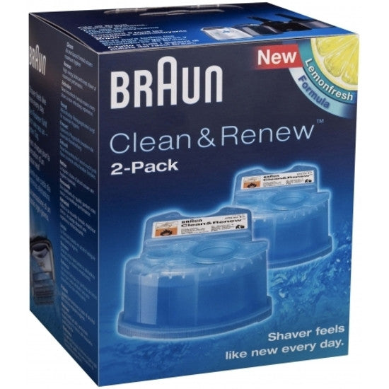 Braun Clean and Renew Refill Cartridge CCR2