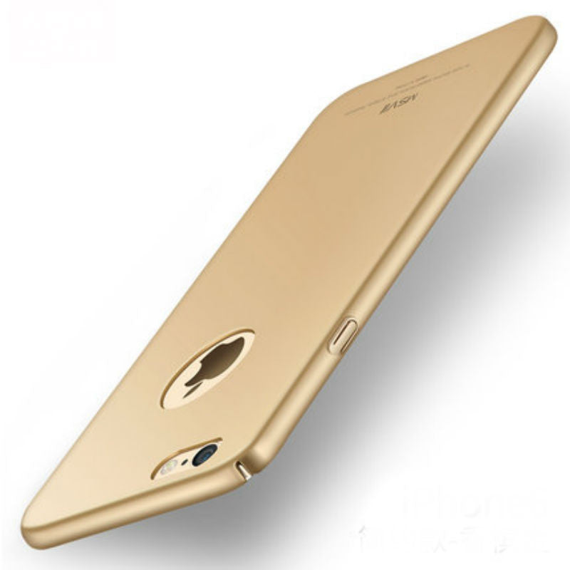 Hard Shell Matte Case 5.5 inch for iPhone 6/6s Plus (Champagne)