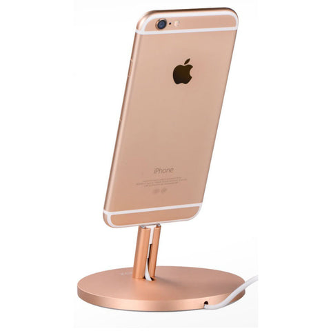 Charging Cradle for iPhone (Rose Gold)