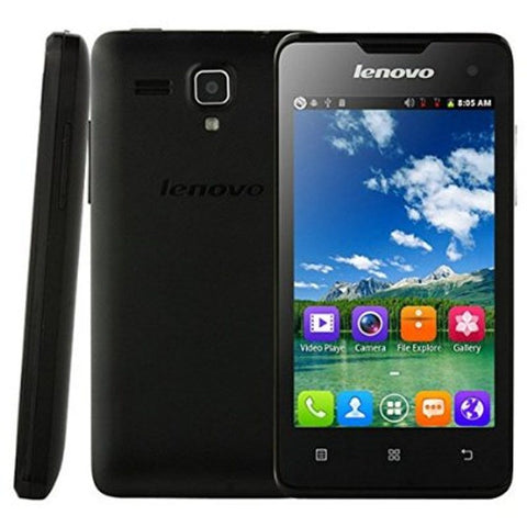 Lenovo A396 256MB 3G Black Unlocked (CN Version)