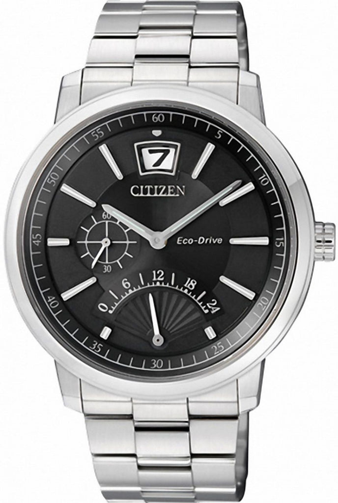 Citizen Eco-Drive Retrograde Dual Time BR0070-54E Watch (New with Tags)
