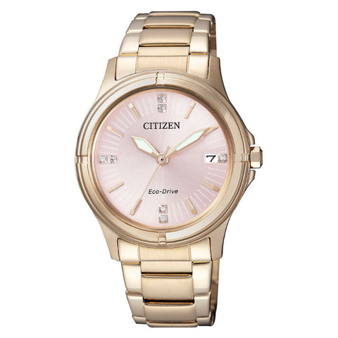 Citizen Elegant Eco-Drive FE6053-57W Watch (New with Tags)