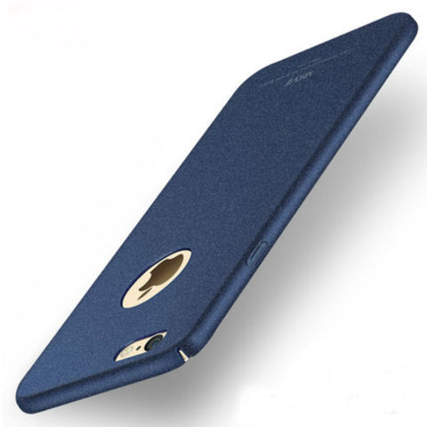 Hard Shell Matte Case 4.7 inch for iPhone 6 (Sapphire Blue Rock Sand)
