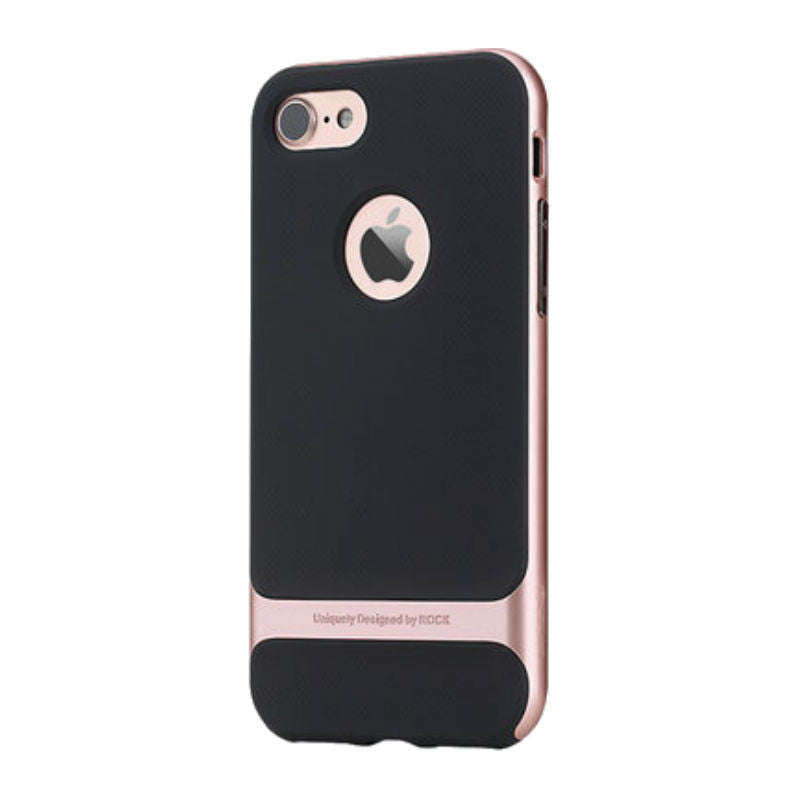 Soft Shell Drop Resistance Case 4.7 inch for iPhone 7 (Rose Gold)