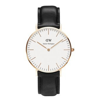 Daniel Wellington Sheffield Leather Analog 0508DW Watch (New with Tags)