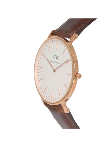 Daniel Wellington Bristol Leather Analog 0511DW Watch (New with Tags)
