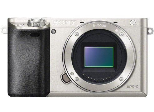 Sony Alpha A6000 ILCE-6000 Silver Body