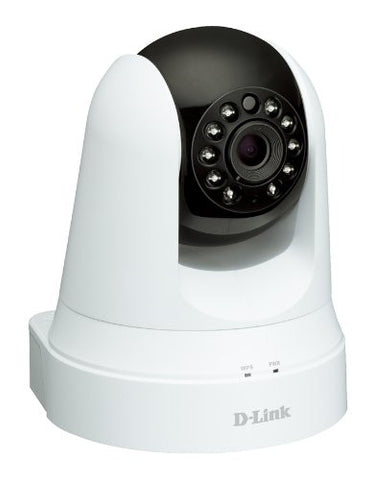 D-Link DCS-5020L Pan and Tilt Day or Night Network Camera White/Black