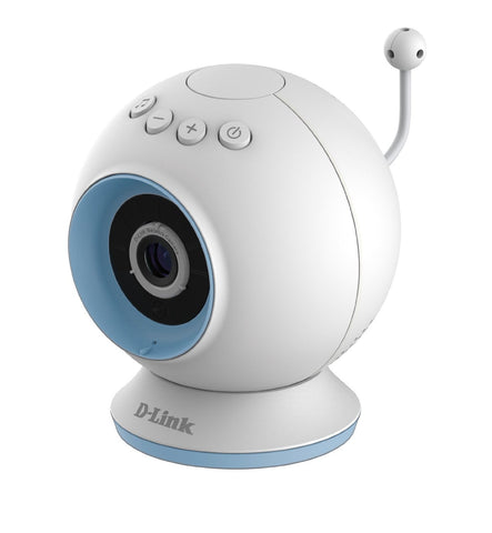D-Link DCS-825L WiFi Day or Night HD Baby Camera Monitor White