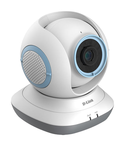 D-Link DCS-855L WiFi Pan and Tilt Day or Night Baby Camera Monitor White