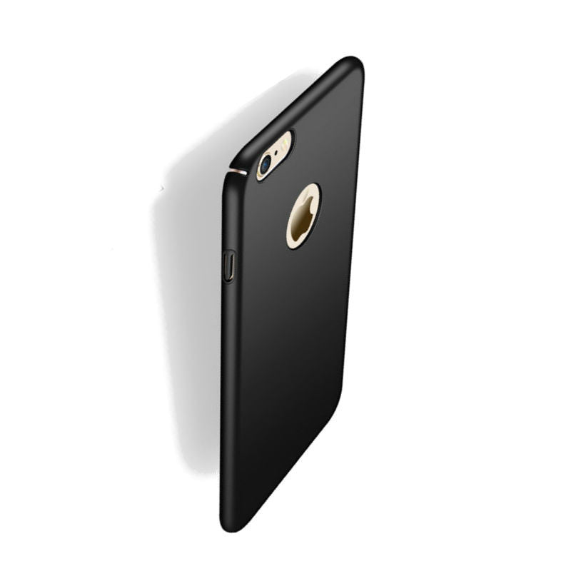 Hard Shell Drop Resistance Case for iPhone 6 Plus (Black)