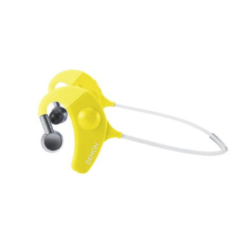Denon AH-W150BU Exercise Freak In-Ear Headphones (Yellow)