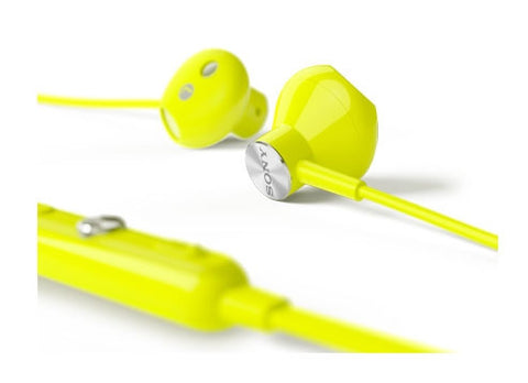 Sony STH30 IP57 Stereo Headset Lime