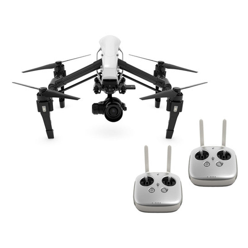DJI Inspire 1 RAW Edition Quadcopter (Dual Remote) with Zenmuse X5R 4K Camera and 3-Axis Gimbal