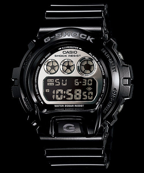 Casio Standard Digital DW-6900NB-1 Watch (New With Tags)