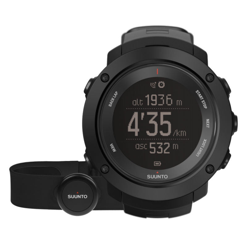 Suunto Ambit3 Vertical HR GPS Multisports Watch SS021964000 (Black)