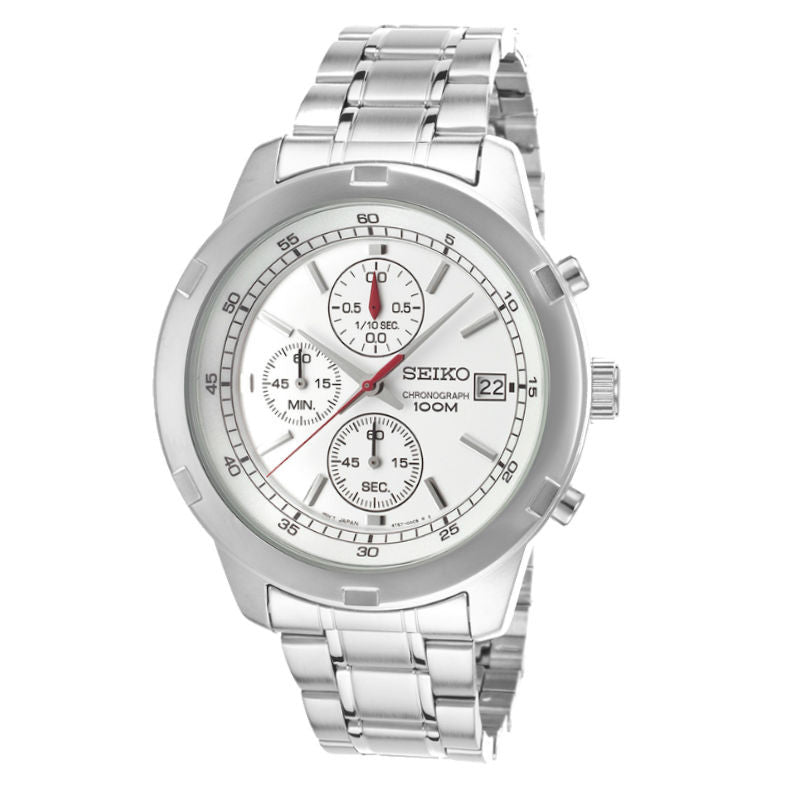 Seiko Chronograph Quartz SKS417 Watch (New with Tags)