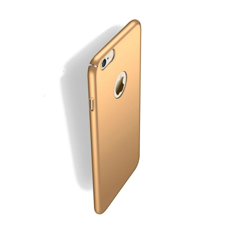 Hard Shell Drop Resistance Case for iPhone 6 (Champagne)